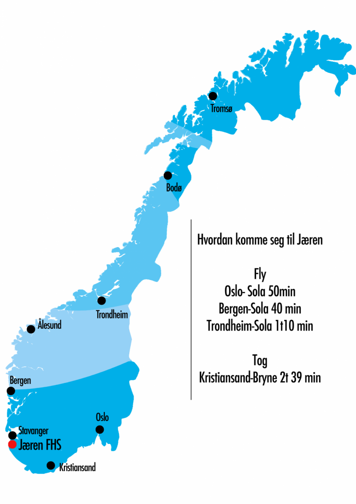 Lokalmiljøet til Jæren Folkehøgskule