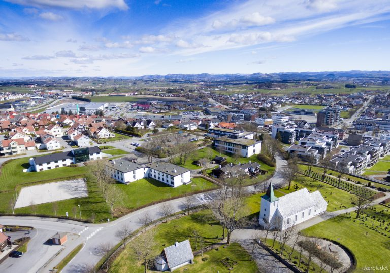 Jæren folkehøgskule på KLepp i Rogaland