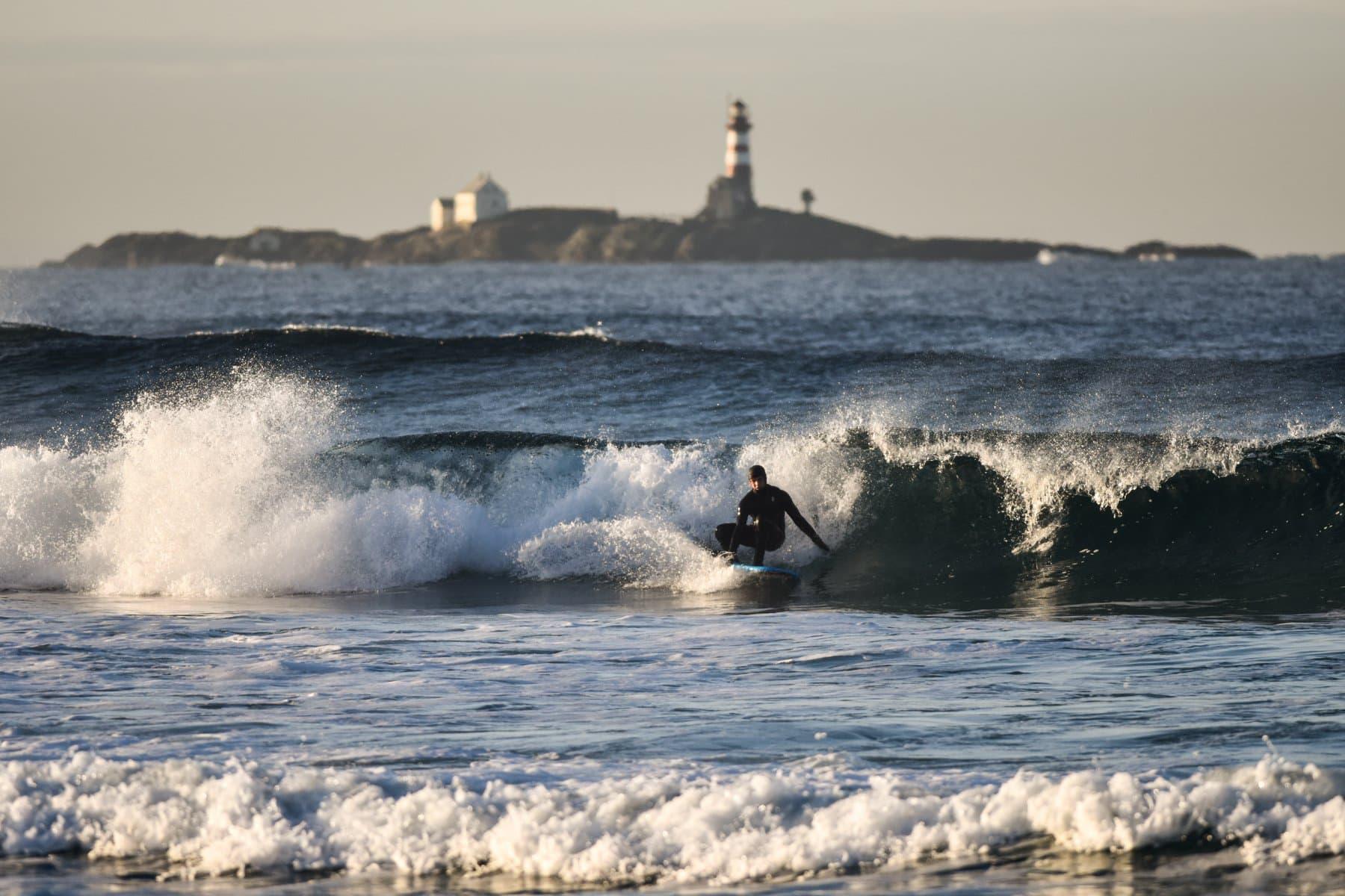 Optimale surfeforhold like utfor skolen - Jæren fhs