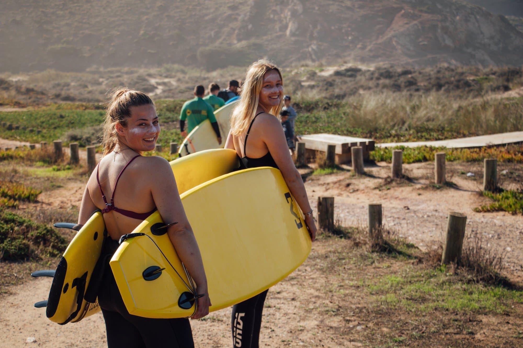 Surf i Portugal - Jæren folkehøgskule